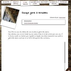S'CAPE-Escape game à Versailles