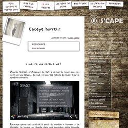 S'CAPE-Escape horreur