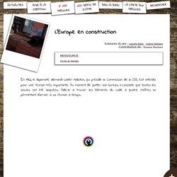 S'CAPE-L'Europe en construction