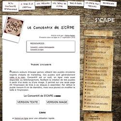 S'CAPE-Le ConcentrX de S'CAPE