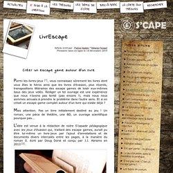 S'CAPE-LivrEscape
