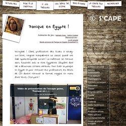 S'CAPE-Panique en Égypte!