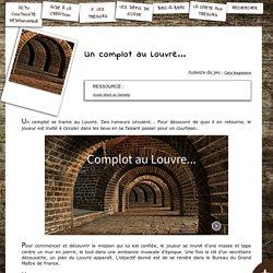 S'CAPE-Un complot au Louvre...
