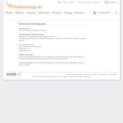 Fischer Verlage - Stellen