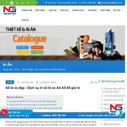Sổ lò xo đẹp - Sổ lò xo A4 A5 A6 giá rẻ tại Hà Nội