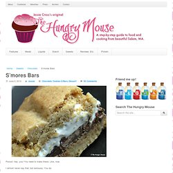 S'mores Bars | The Hungry Mouse - StumbleUpon