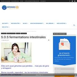 S.O.S fermentations intestinales