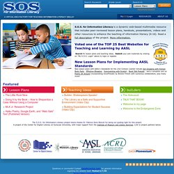 S.O.S. for Information Literacy
