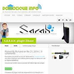 S.A.R.A.H, plugin Zibase