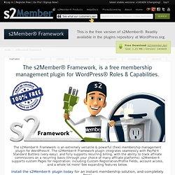 s2Member® Framework