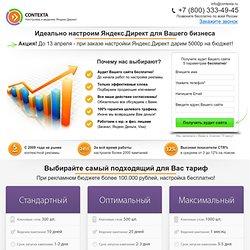 Профессиональная настройка Яндекс Директ и Google Adwords для бизнеса!