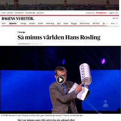 Så minns världen Hans Rosling