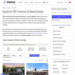 Houses for sale Saanich BC