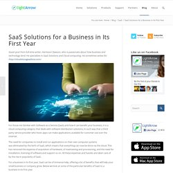 SaaS Solutions for a Business in Its First Year