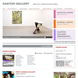 The Saatchi Gallery - Contemporary Art in London