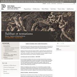 Sabbat et tentations, Dürer, Callot et Desmazières