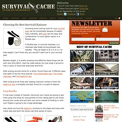 The Sabercut Saw – Choosing the Best Collapsible Chainsaw