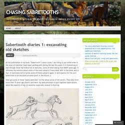 Sabertooth diaries 1: excavating old sketches
