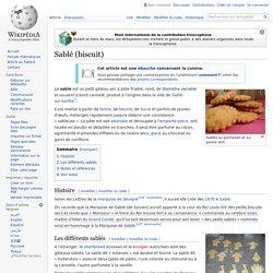 Sablé (biscuit)