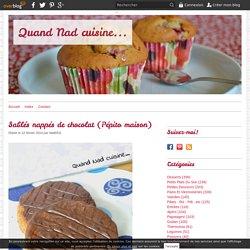Sablés nappés de chocolat (Pépito maison)