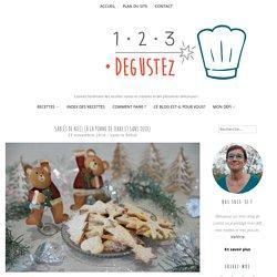 Sablés de Noël (à la pomme de terre et sans oeuf)