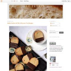 Sablés Sachets de Thé A Devorer: Tea Boogies
