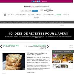37. Sablés salés aux noix de cajou et au parmesan : 40 idées de recettes pour l'apéro