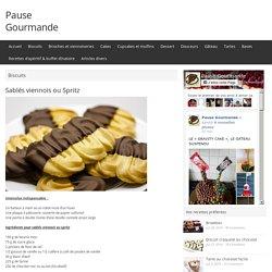 Sablés viennois ou Spritz - Pause Gourmande