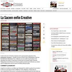 La Sacem enfin Creative