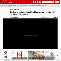 Mythos Sachertorte: Die Sachertorte und das Hotel Sacher - zwei kulturelle Highlights Österreichs - Videos