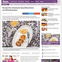 Rezept für sächsische Quarkkeulchen - ein DDR-Klassiker