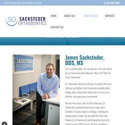 Meet the Doctor James Sacksteder