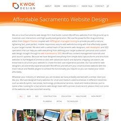 Sacramento Website Design & Sacramento Web Designer