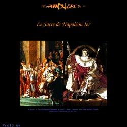 Le Sacre de Napoléon Ier (2 décembre 1804)