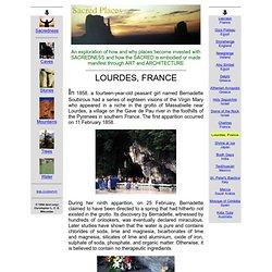 Sacred Places: Lourdes