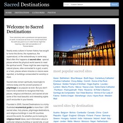 Sacred Destinations