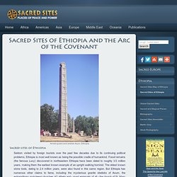 Sacred Sites of Ethiopia and the Arc of the Covenant, Ethiopia