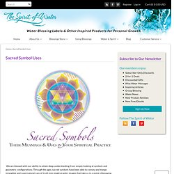 Sacred Symbol Meanings and Uses – The Spirit of Water