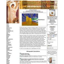 Sacred Texts - Australia
