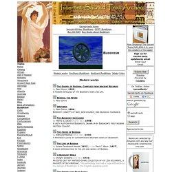 Sacred Texts: Buddhism
