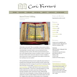 Sacred Texts Talking : Cari Ferraro