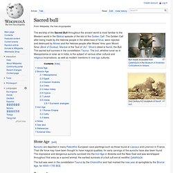 Bull (mythology)