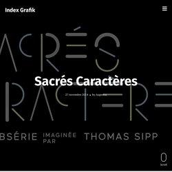 [FR] Sacrés Caractères / indexgrafik.fr