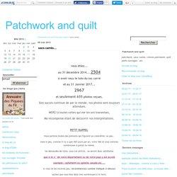 sacs carrés.... - Patchwork and quilt