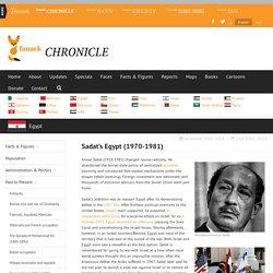 Sadat's Egypt (1970-1981)