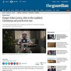 Forget John Lewis, this is the saddest Christmas ad you'll ever see