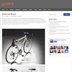 Saddle Lock Bicycle