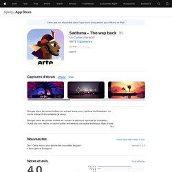 Sadhana - The way back dans l'App Store