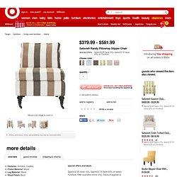 Safavieh Randy Pillowtop Slipper Chair