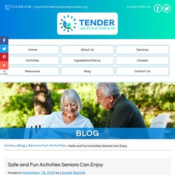 Safe and Fun Activities Seniors Can Enjoy